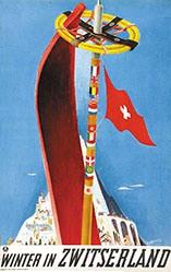 Carigiet Alois - Winter in Zwitserland