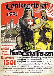 Affeltranger Jean - Centenarfeier Schaffhausen