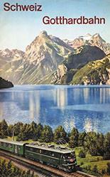 Anonym - Schweiz - Gotthardbahn