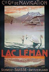 Borgoni Mario - Lac Léman