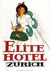 Cardinaux Emil - Elite Hotel Zürich