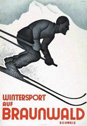 Handschin Hans - Wintersport Braunwald
