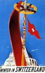 Carigiet Alois - Winter in Switzerland