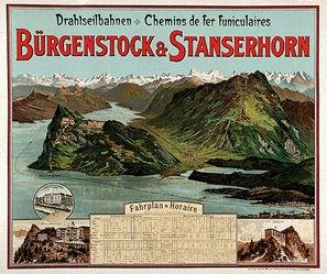Anonym - Bürgenstock-Stanserhorn