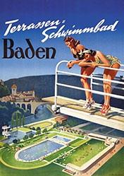 Anonym - Schwimmbad Baden
