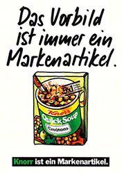 Young & Rubicam - Markenartikel Knorr