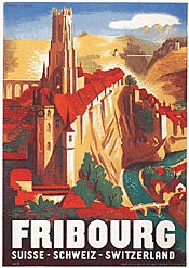 Monogramm W.J. - Fribourg