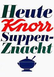 Aeppli Christoph - Knorr Suppen-Znacht
