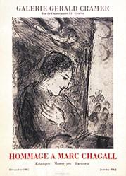 - Hommage a Marc Chagall - Galerie Gérald Cramer