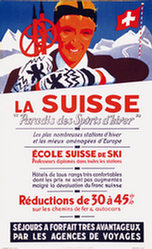 Baumberger Otto - La Suisse Paradis des sports dhiver