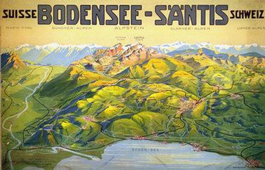 Anonym - Bodensee - Säntis