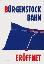 Anonym - Bürgenstock Bahn