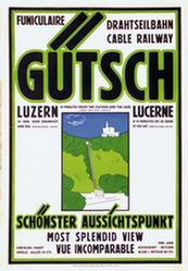 Anonym - Drahtseilbahn Gütsch Luzern