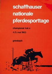 Anrig Hannes M. - Schaffhauser Nat. Pferdesporttage