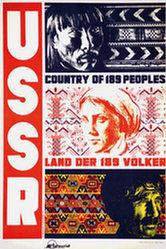 Anonym - USSR - Land der ISS Völker